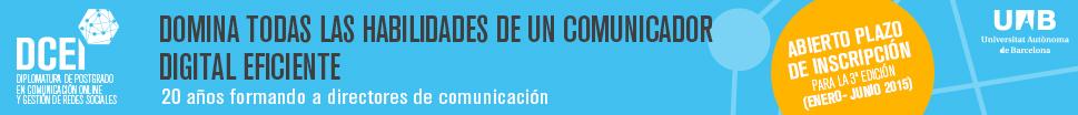 Diplomatura de postgrado en comunicación online y gestión de redes sociales