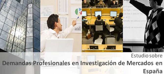 Estudio sobre Demandas Profesionales en Investigación de Mercados en España